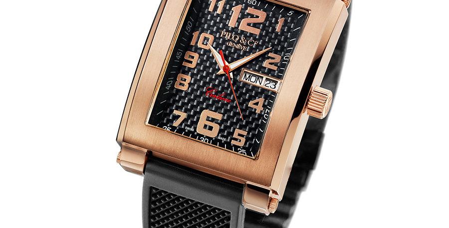 Pilo & Co CORLEONE Gold PVD Black Automatic