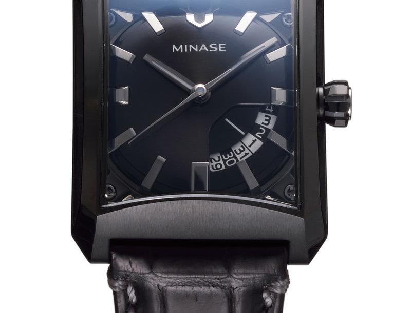Minase 5 Windows Jahr 2021 Black PVD Stainless Steel