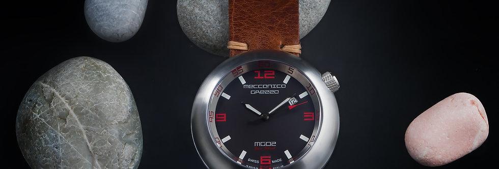 """Meccanica Grezza MG02 """"Sea Steel ST"""""""