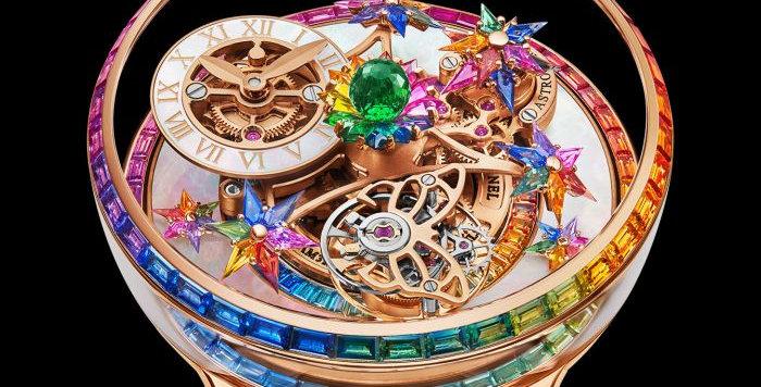 "Jacob & Co. Astronomia Fleurs de Jardin ""Rainbow"" 1 Watch available"