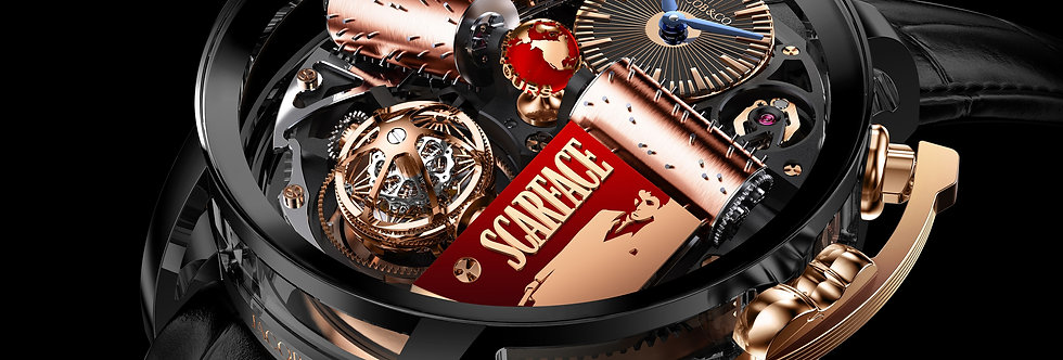 Jacob & Co. Opera by Jacob & Co. SCARFACE Musical Watch