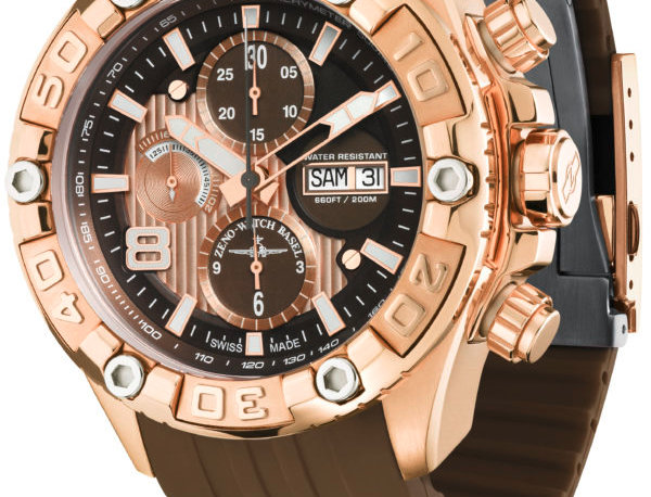 Oceania Sport Chronograph gold plated