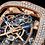 Thumbnail: Jacob & Co. Bugatti Chiron 16-Zylinder Tourbillon, Rosegold, Pave