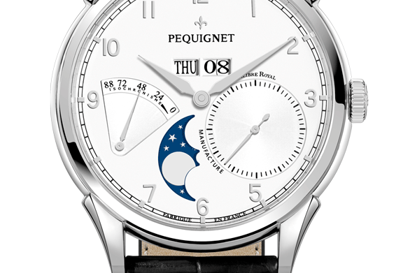 Pequignet Royale Grand Sport, Day-Date,Moonphase