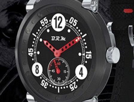 B.R.M FLAT 42 Handwinding Extra flat TITAN PVD Black