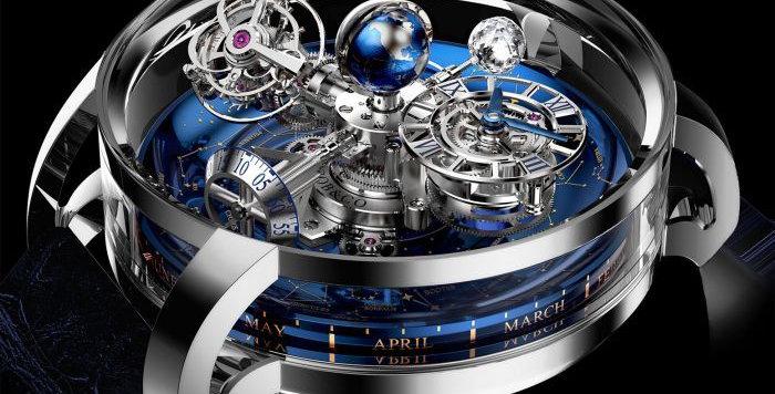 Jacob & Co. Astronomia Sky Platinum Limted 18 pieces