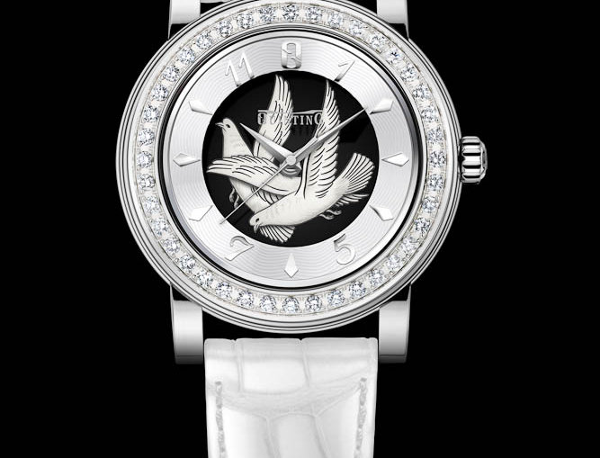 Quinting Cyclone The Lady Dove 40 Diamonds 1.2 ct