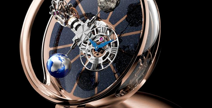 Jacob & Co. ASTRONOMIA TABLE CLOCK ROSE GOLD