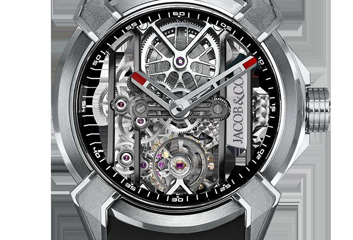 Jacob & Co. Epic X Titanium, 3 Options, black, red, white