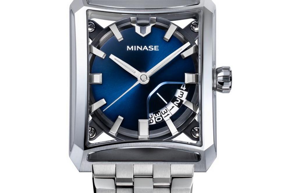 Minase 7-Windows blue neuestes Modell 2021 Steel bracelet