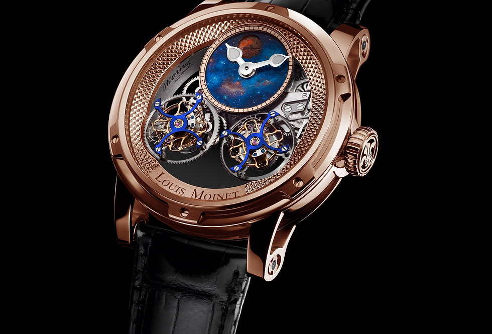 Louis Moinet Sideralis EVO Double Tourbillon