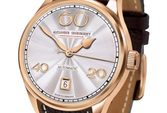 Ladies Automatik Gold