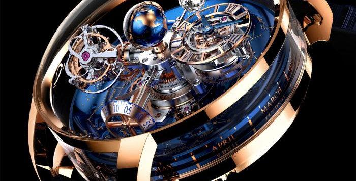 Jacob & Co. Astronomia Sky White Diamond 18 pieces Limited