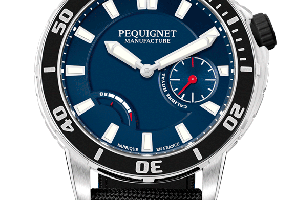 Pequignet Royale 300 Diver, Power Reserve