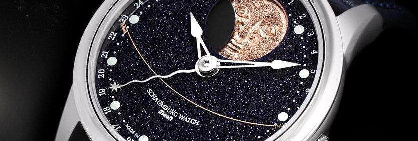Schaumburg Watch Grand Perpetual Moon Galaxy handmade
