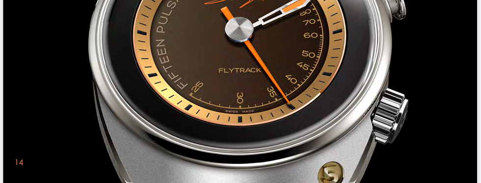 Singer Reimagined Flytrack Pulsometer Limited Edition 10 Pieces