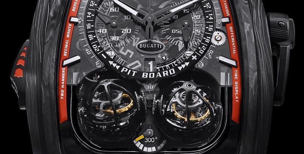 Jacob & Co. Twin Turbo Furious Bugatti 300 + Limited 3 Pieces