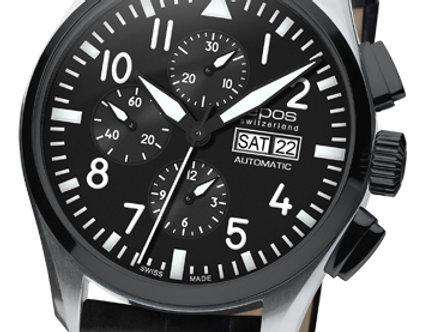 Epos Sportive Chronograph Pilot