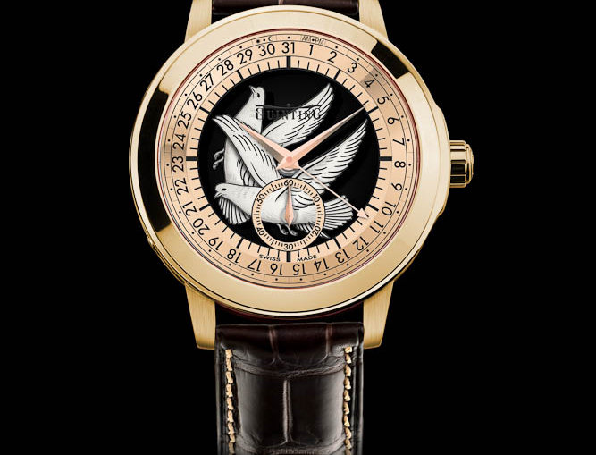 Quinting Mysterious Quardinal Dove of Geneva limited Edition