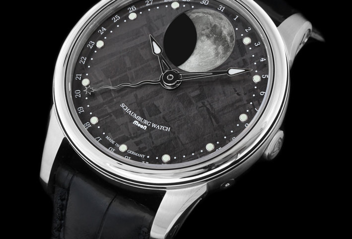 Schaumburg Watch Grand Perpetual Moon Meteorite