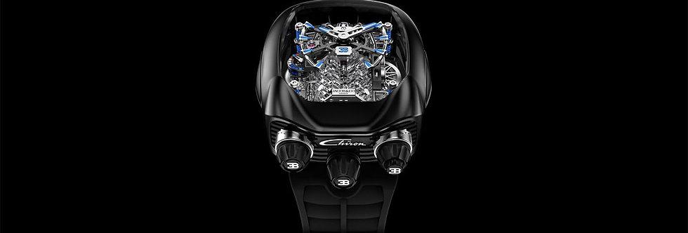 Jacob & Co. Bugatti Chiron 16-Zylinder Tourbillon, Titanium