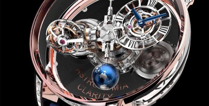Jacob & Co. Astronomia Clarity Roségold Baguette 9 Pieces Limited