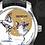 Thumbnail: Bereve Grand Feu Miniature White Gold