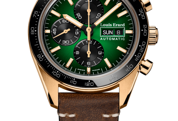 Louis Erard Chronograph La Sportive Limited Edition Bronze