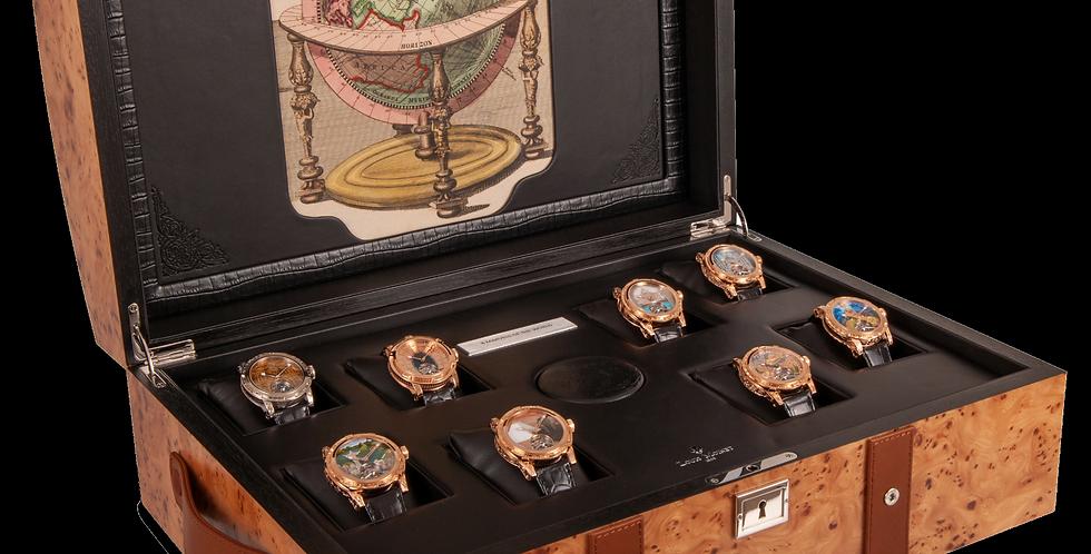 Louis Moinet 8 x Marvels of the World Gold Medallist Unique Set