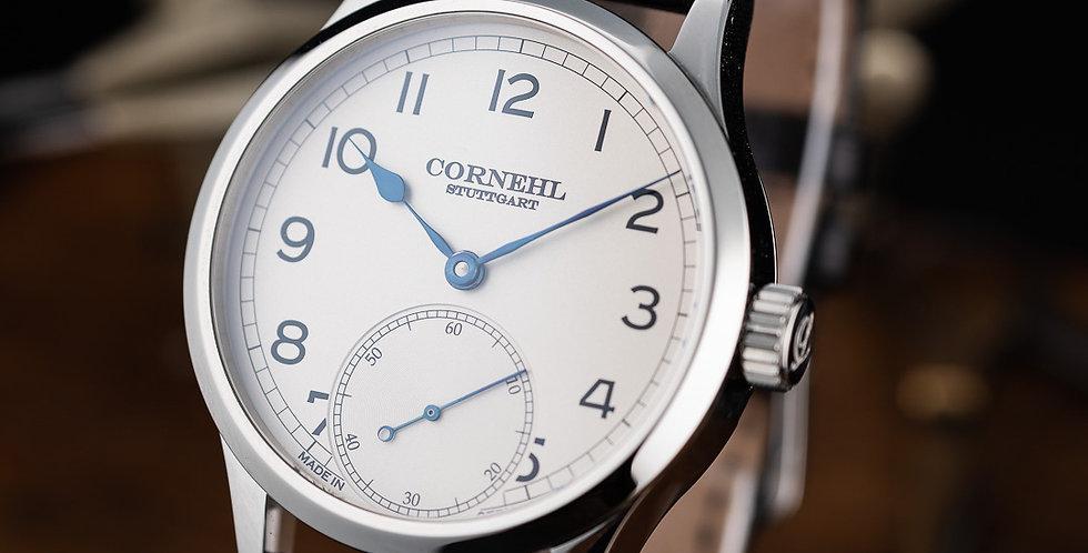 Cornehl Classic Silver Lünette flach, Krone zylindrisch
