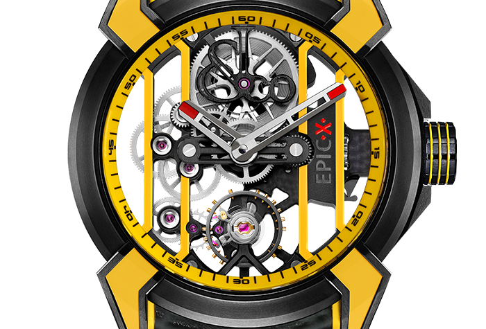 Jacob & Co. Epic X Racing 3 Options, Yellow, Black&White,Red