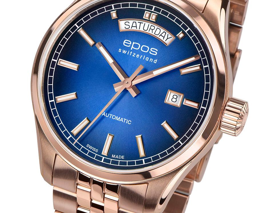 Epos Passion Day-Date 4 farblich verschiedene Optionen PVD Bracelet