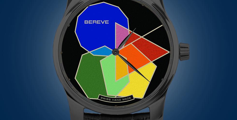 "Bereve Polygonal PRIME DLC Silver Dial Champlevé ""Grand Feu"""