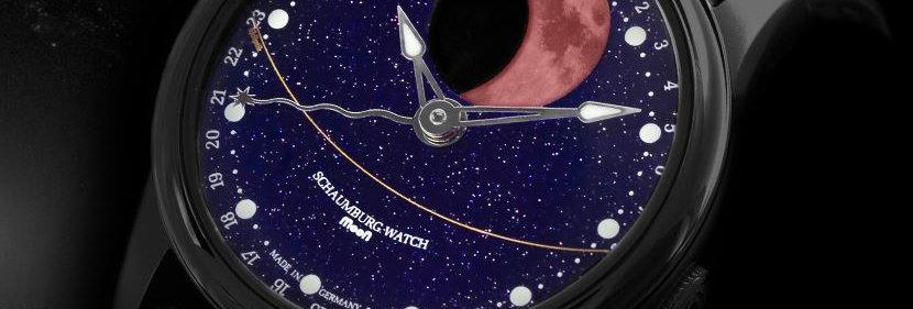 Schaumburg Watch Grand Perpetual Blood Moon Galaxy PVD