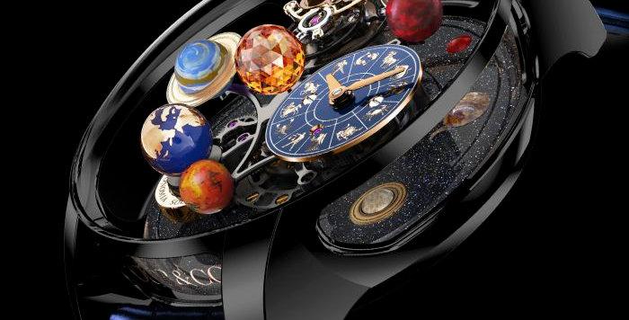 Jacob & Co. Astronomia Solar - Jewellery - Planets - Zodiac Black DLC Titanium