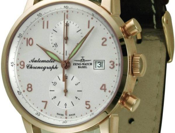 Magellano Chronograph Bicompax 18ct gold