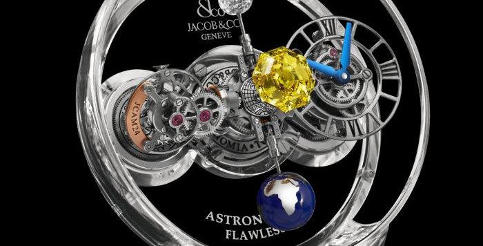 Jacob & Co. Astronomia FLAWLESS VIVID YELLOW DIAMOND Piece Unique