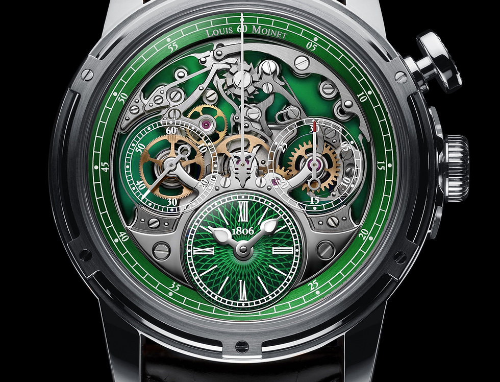 Louis Moinet Memoris GREEN Limited Edition