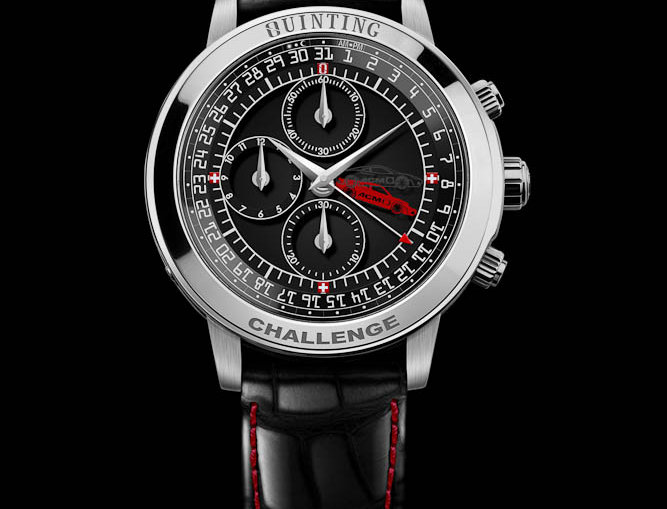 Quinting Mysterious Chronograph Quinting Challenge