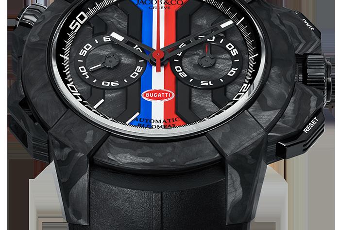 Jacob & Co. Epic X Chrono Carbon Bugatti
