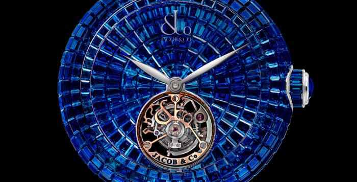 Jacob & Co. Brilliant Flying Tourbillon Blue Sapphires 18 Pieces Limited