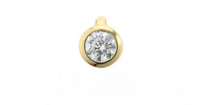 Anhänger DIAMONDS SOLO Gelbgold mit Brillant 0,50 ct