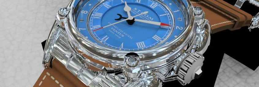 Strom Ventus Argentum French Blue Limited 25 pieces