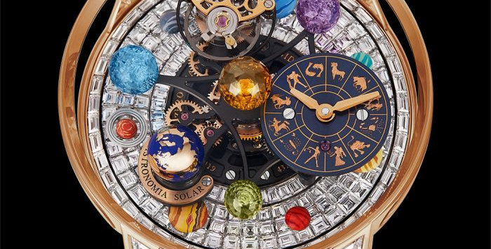 Jacob & Co. Astronomia Solar Baguettes - Jewellery - Planets - Zodiac