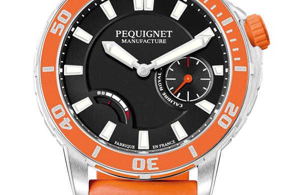 Pequignet Royale 300 Diver, Power Reserve