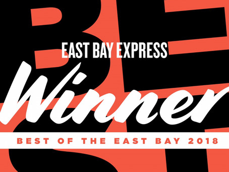 Best New Restaurant 2018                Eastbay Express Winners