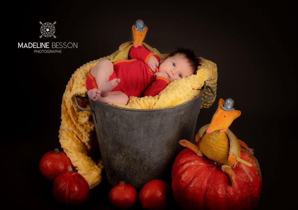 Photos de nouveau-né, new-born posing, à Clermont ferrand, Riom, Cournon d'Auvergne et alentours