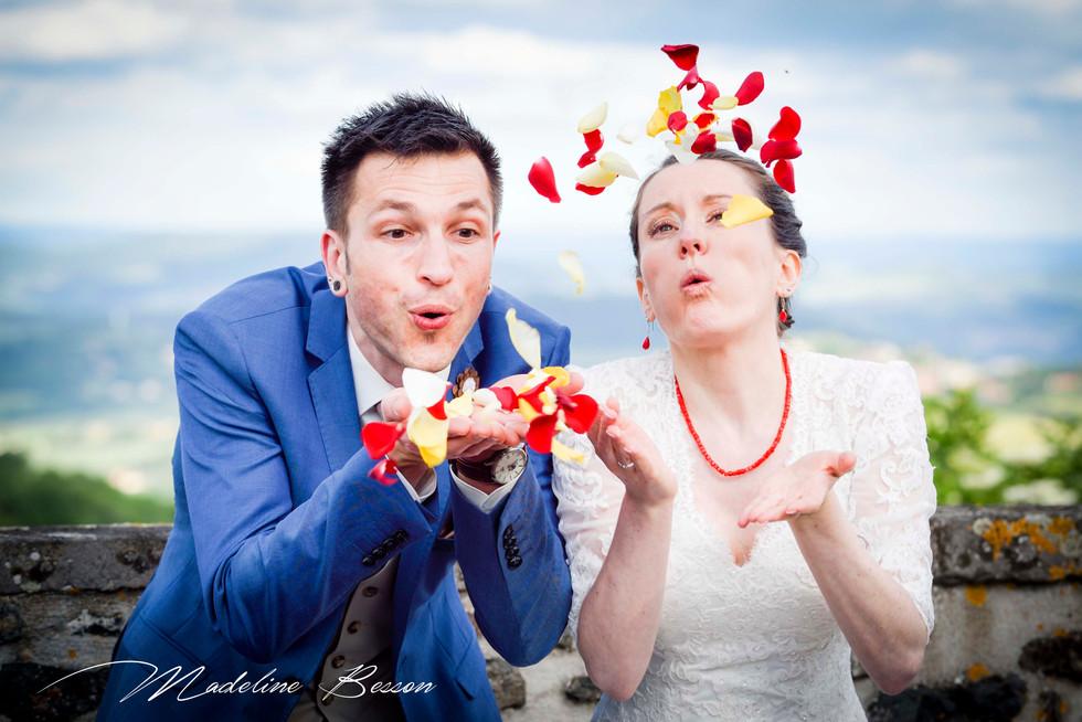 Photos de mariage, photos de couple, photos des mariées à Clermont Ferrand, Riom, Cournon d'Auvergne et alentours