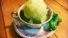 Honey Dew Melon Granita-Refined Sugar Free