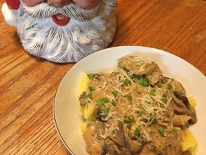 Gluten Free Vegetarian Mushroom Stroganoff